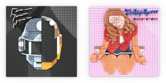 キャッチーなデザインで、人々の記憶に残るcdジャケット。アドナン・ロティアさんは、レゴブロックを使ってcdジャケットを再現するアーティストで、その完成度の高さがinstagramで話題に。