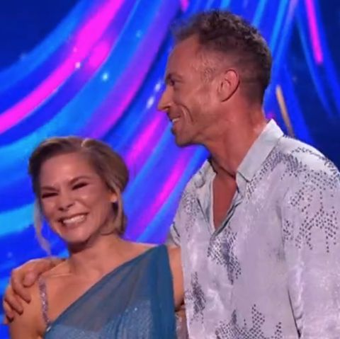 detailed look 3f46c 85ef5 Dancing on Ice s James Jordan gets a perfect score in semi-final just days  after ripping hernia