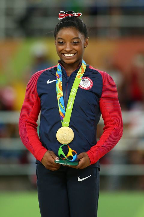 Adopted Celebrities Simone Biles