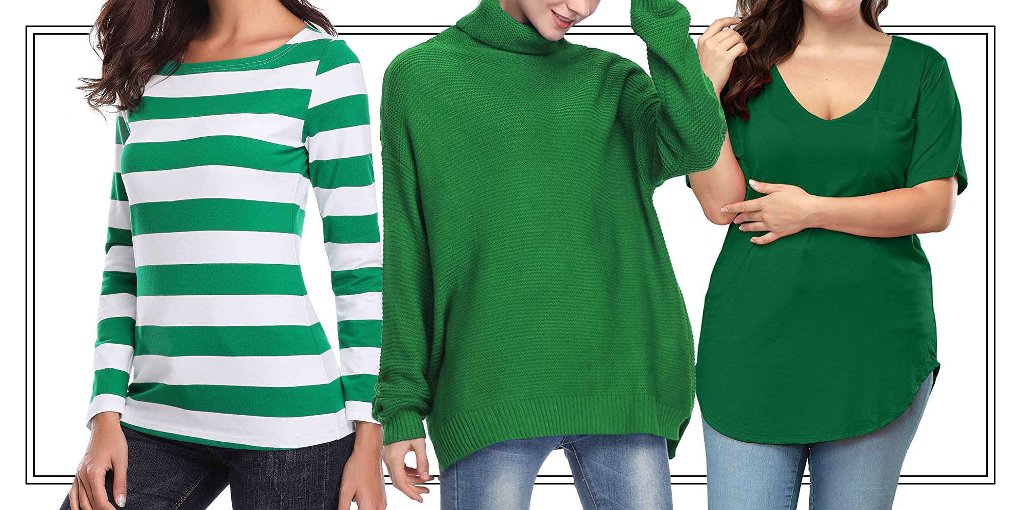 17 St. Patrick's Day Outfits for Women Green Clothing