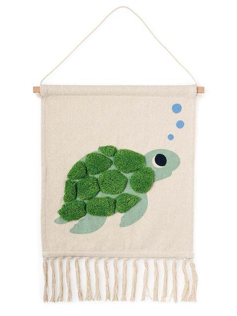 tapiz infantil con una tortuga