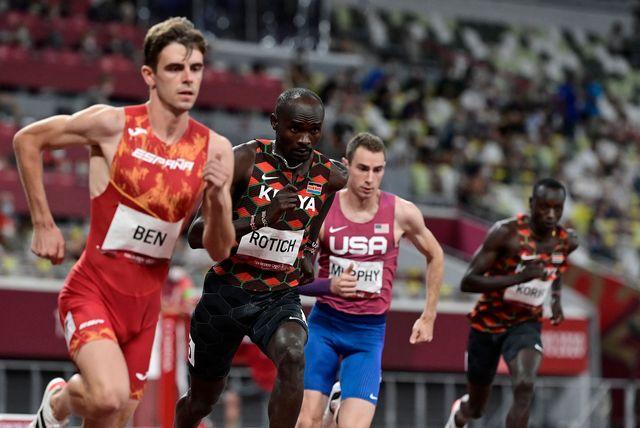 adrian ben, 800 metros, juegos olimpicos de tokio