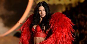 Adriana Lima on the Victoria's Secret catwalk