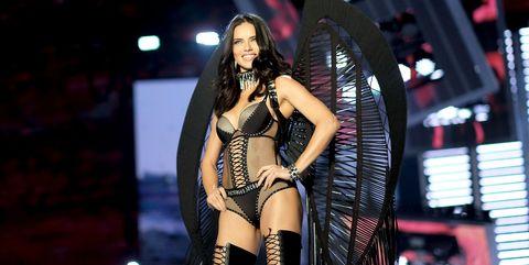 49f9a9b29e Adriana Lima Reveals What She ll Do After Victoria s Secret