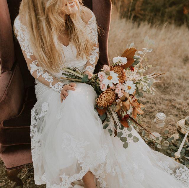 Gorgeous Affordable High Street Wedding Dresses Budget Bridal Gowns,Wedding Rose Gold Burgundy Bridesmaid Dresses