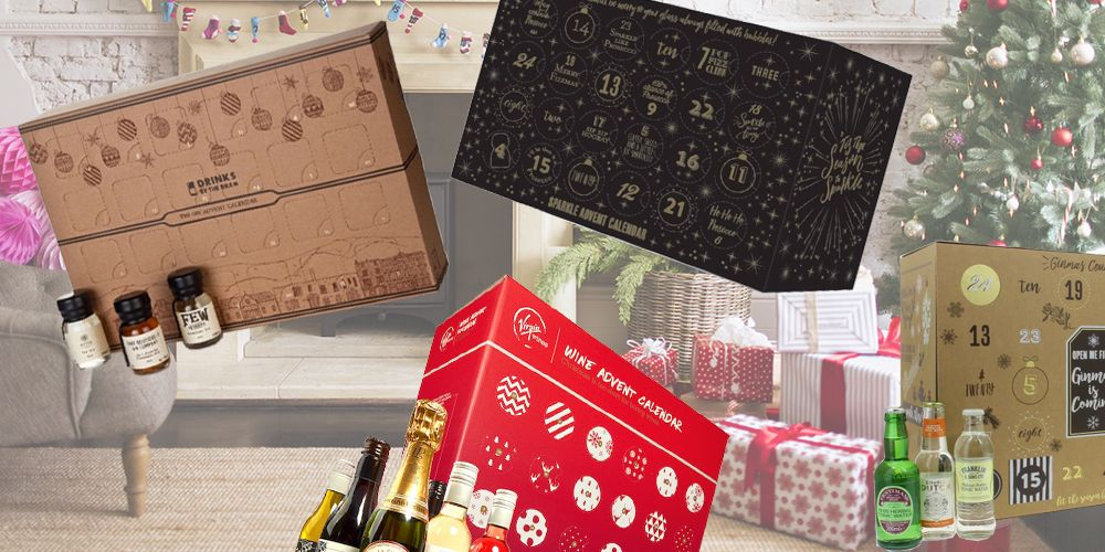 8 alcoholic advent calendars every adult needs this December
