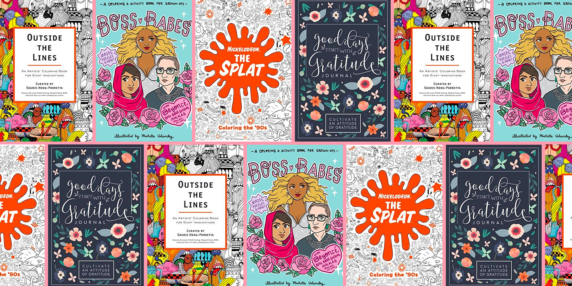 25 Best Adult Coloring Books 2019