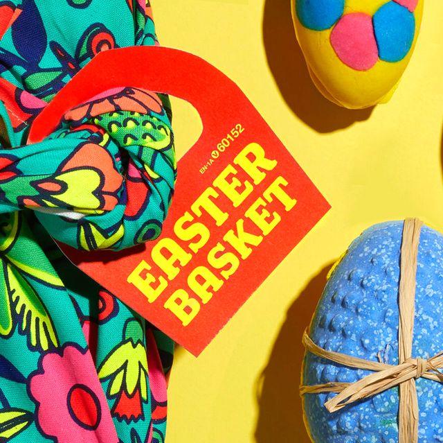 Lush easter basket bath bomb eggs