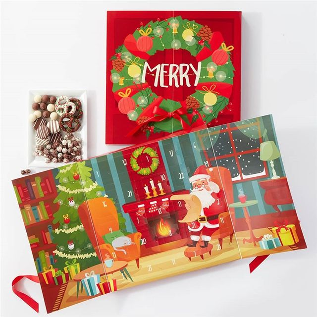 present, greeting card, christmas eve, christmas decoration, paper, fictional character, illustration,