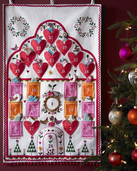 Advent 24 luxe biscuit tin and Sophie Conran for Biscuiteers advent calendar