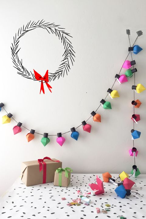 advent calendar ideas lights