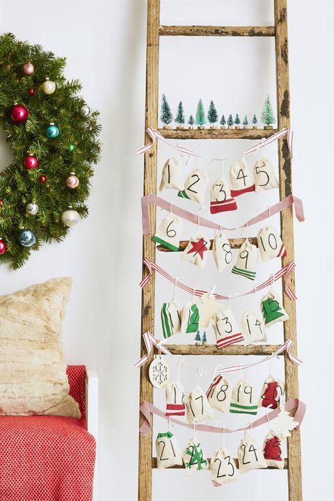 advent calendar ornaments