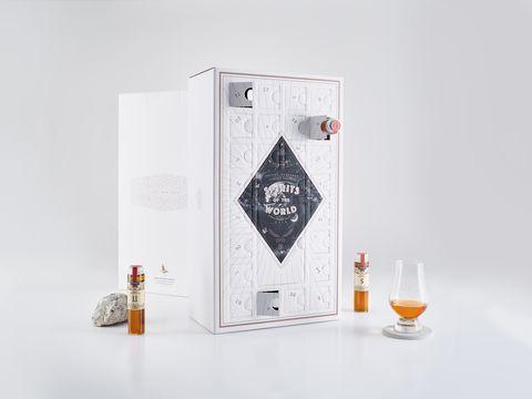 Product, Distilled beverage, Drink, Liqueur, Bottle, Logo, Whisky, Brand, Graphic design, Glass,