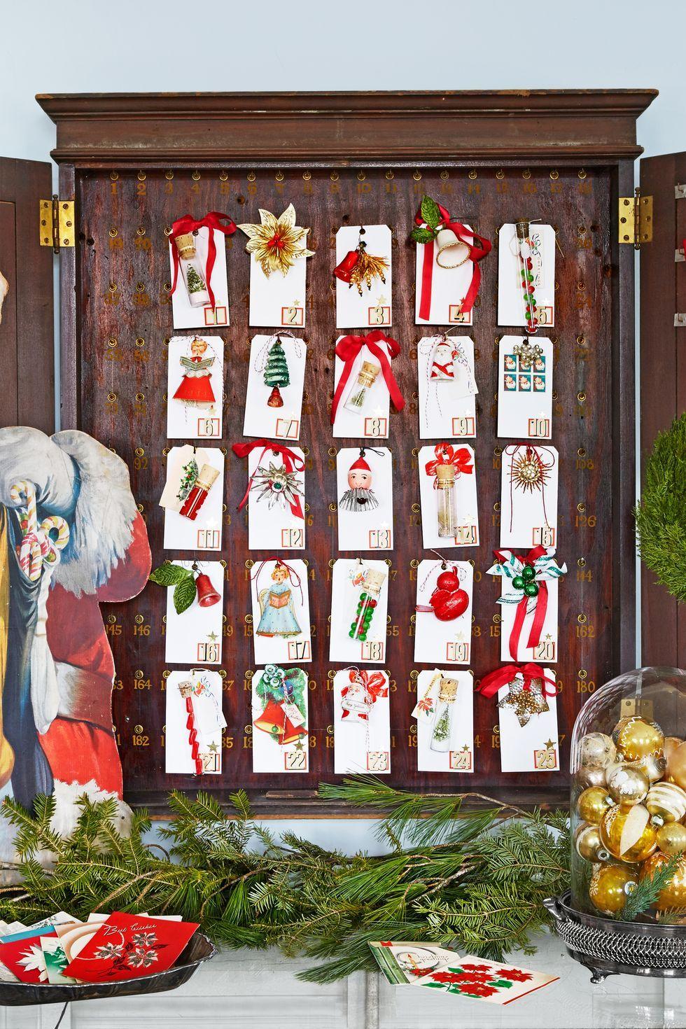 45 Best Advent Calendar Ideas , DIY Christmas Advent Calendars