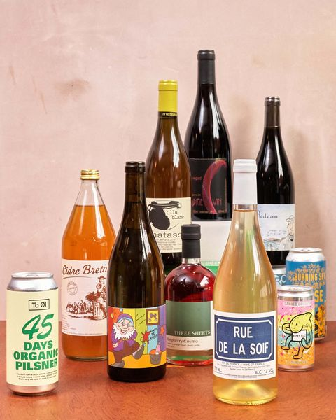 the natural wine selection