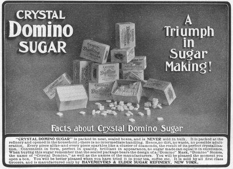 Ad For Domino Sugar