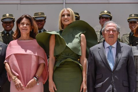 Ivanka Trump Visits Colombia