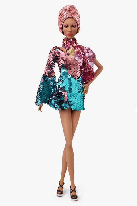 35f2ecaf7c02 Adwoa Aboah has been made into a Barbie doll