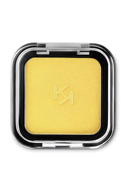 Kiko Milano Yellow Eyeshadow