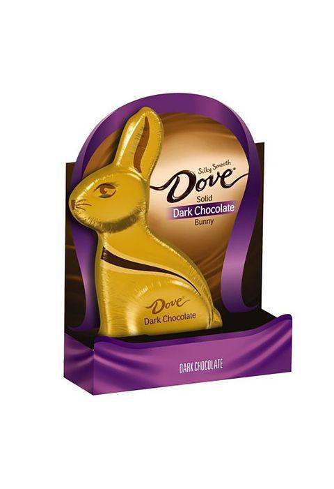 dove solid dark chocolate bunny