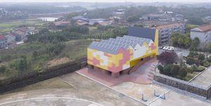 Indoor Playground, SUP Atelier - Contea di Yueyang, provincia di Hunan, Cina.