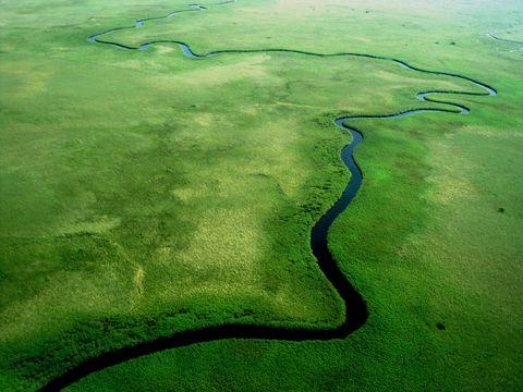 Aerial botswana