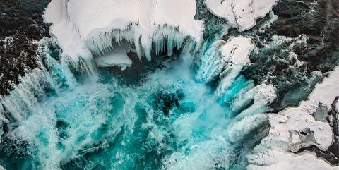 Liquid, Fluid, Freezing, Ice, Winter, Turquoise, Aqua, Teal, Ice cap, Geological phenomenon,