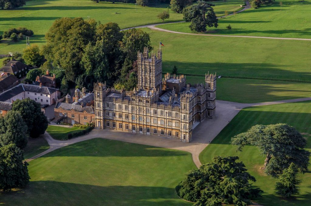 Take a tour of Highclere Castle, the real home of Downton Abbey