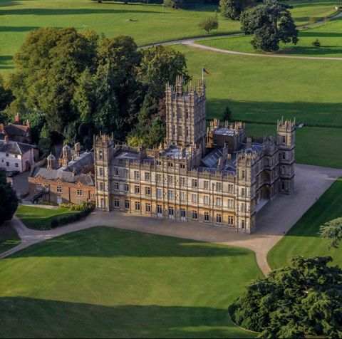 Inside Highclere Castle The Real Home Of Downton Abbey Photos