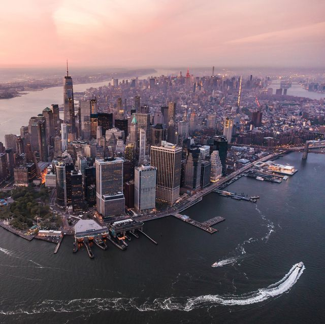 """""""Aerial view of Lower Manhattan, NYC"""""""