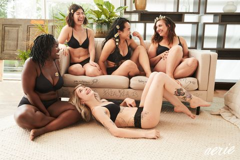 f76dac8c566 Aerie Casts 57 Non-Models for Its Latest Lingerie Campaign