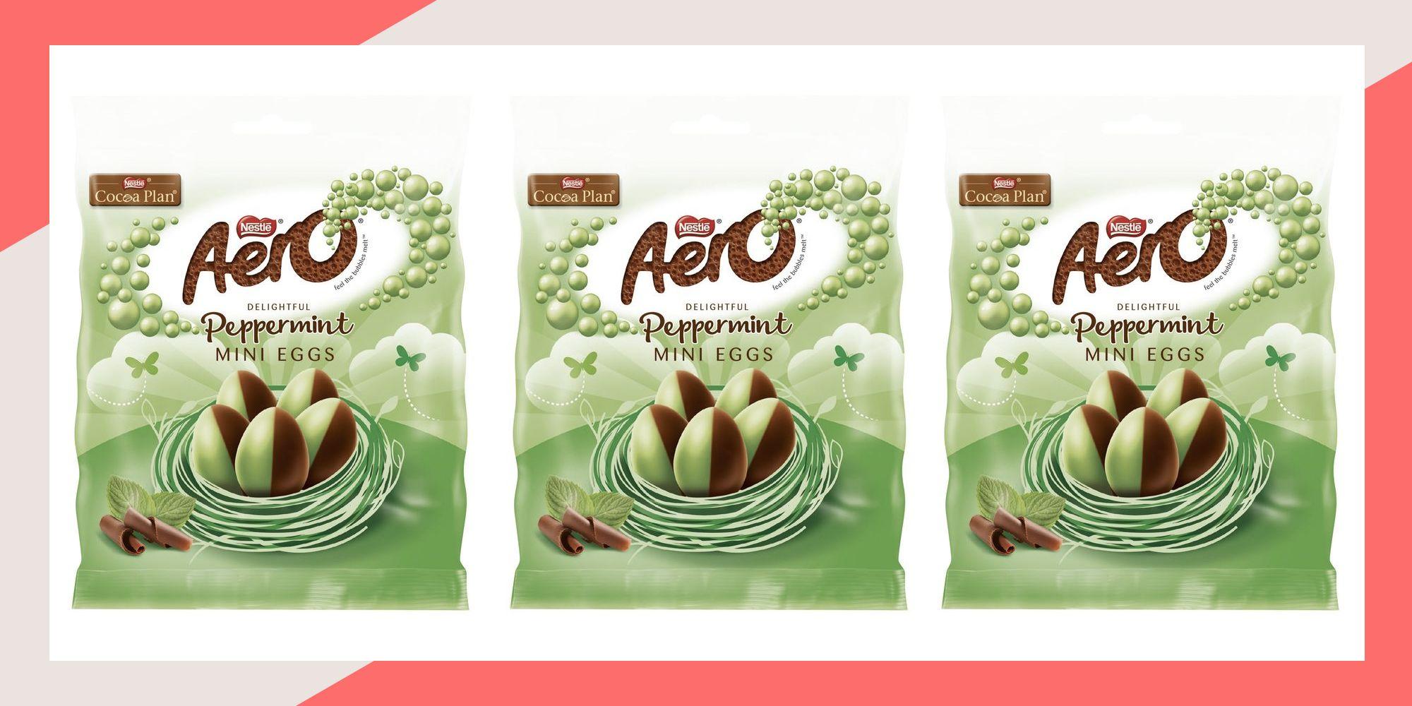Aero Peppermint Mini Eggs Are Back For Easter
