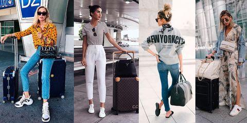 3c4a20b0c634 Cómo vestir (con estilo) para viajar según las que más viajan  las ...
