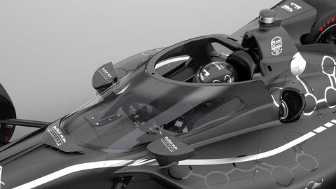 IndyCar aeroscreen for 2020 season