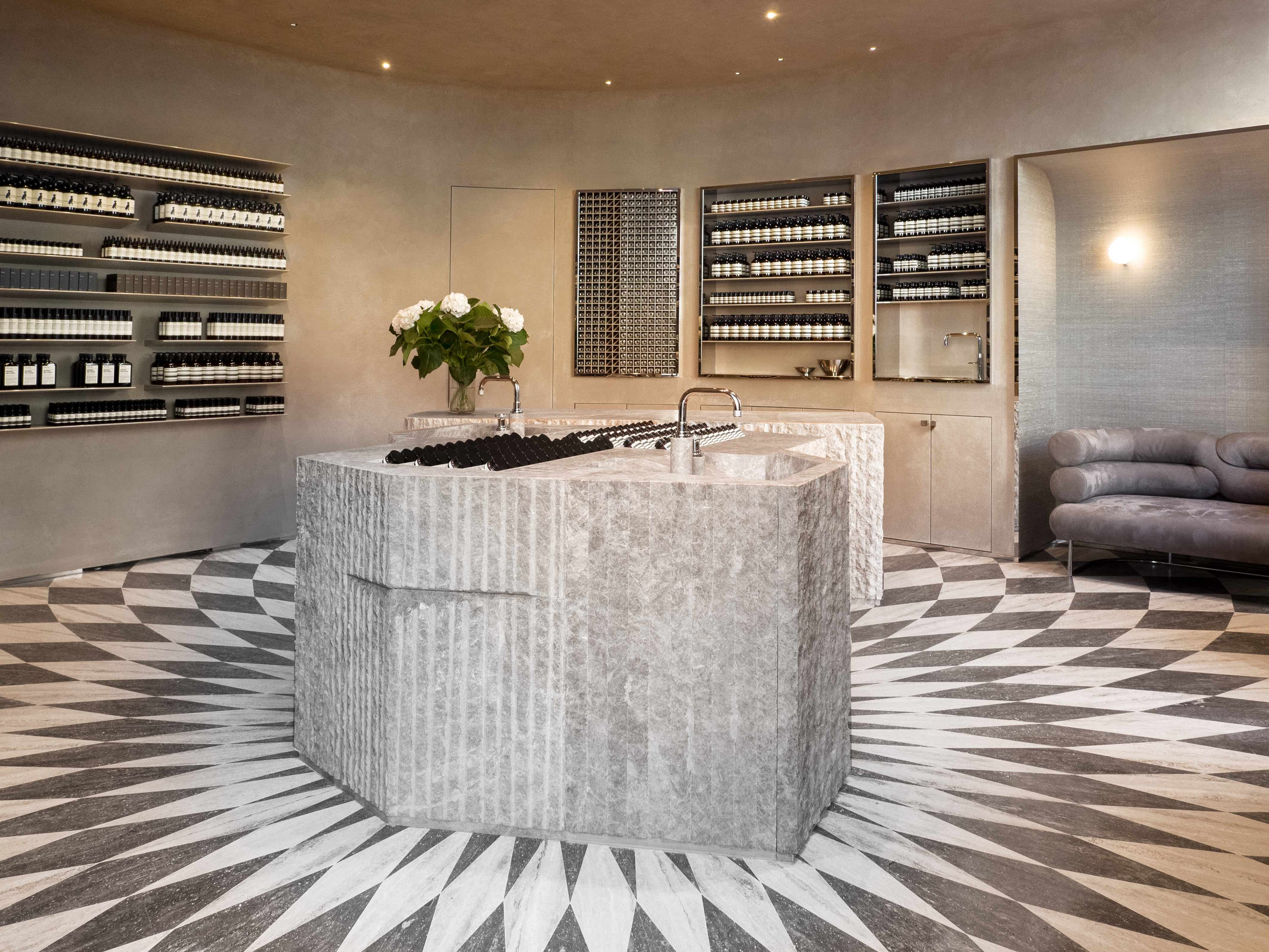 Aesop opens in London's Piccadilly Arcade with interiors by Luca Guadagnino