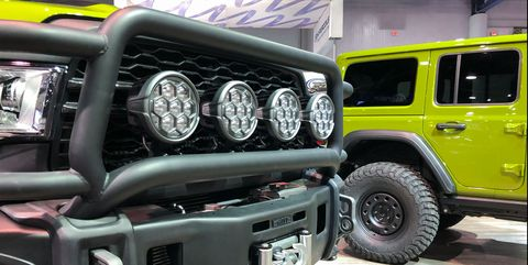 Aev Jeep For Sale >> Aev Brings 3 Mean Green Off Road Machines To Sema