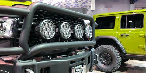 AEV Jeeps at SEMA