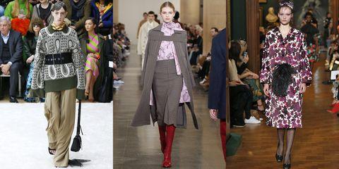 Fashion model, Fashion, Clothing, Runway, Street fashion, Footwear, Fashion show, Outerwear, Knee, Haute couture,