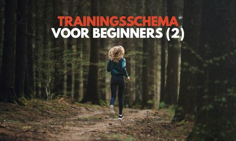 Trainingsschema voor beginners (2)