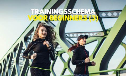 Trainingsschema voor beginners (3)