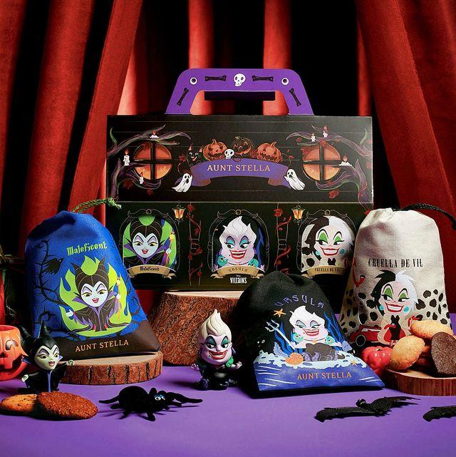 aunt stella推出「迪士尼反派組合束口袋」750份限量販售中!