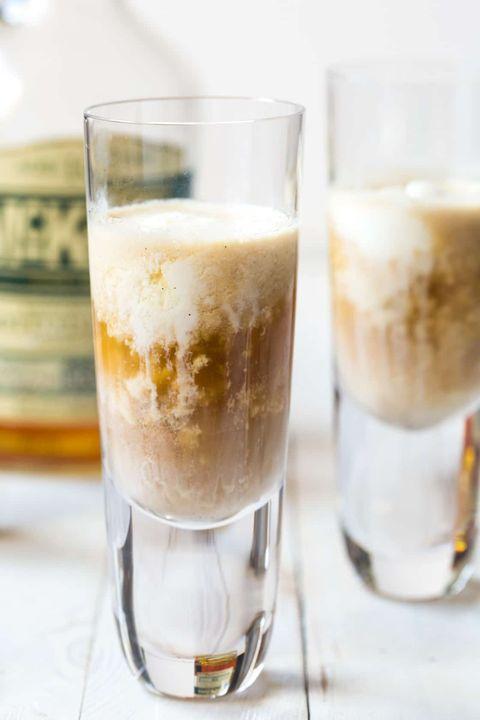 affogato bourbon shots