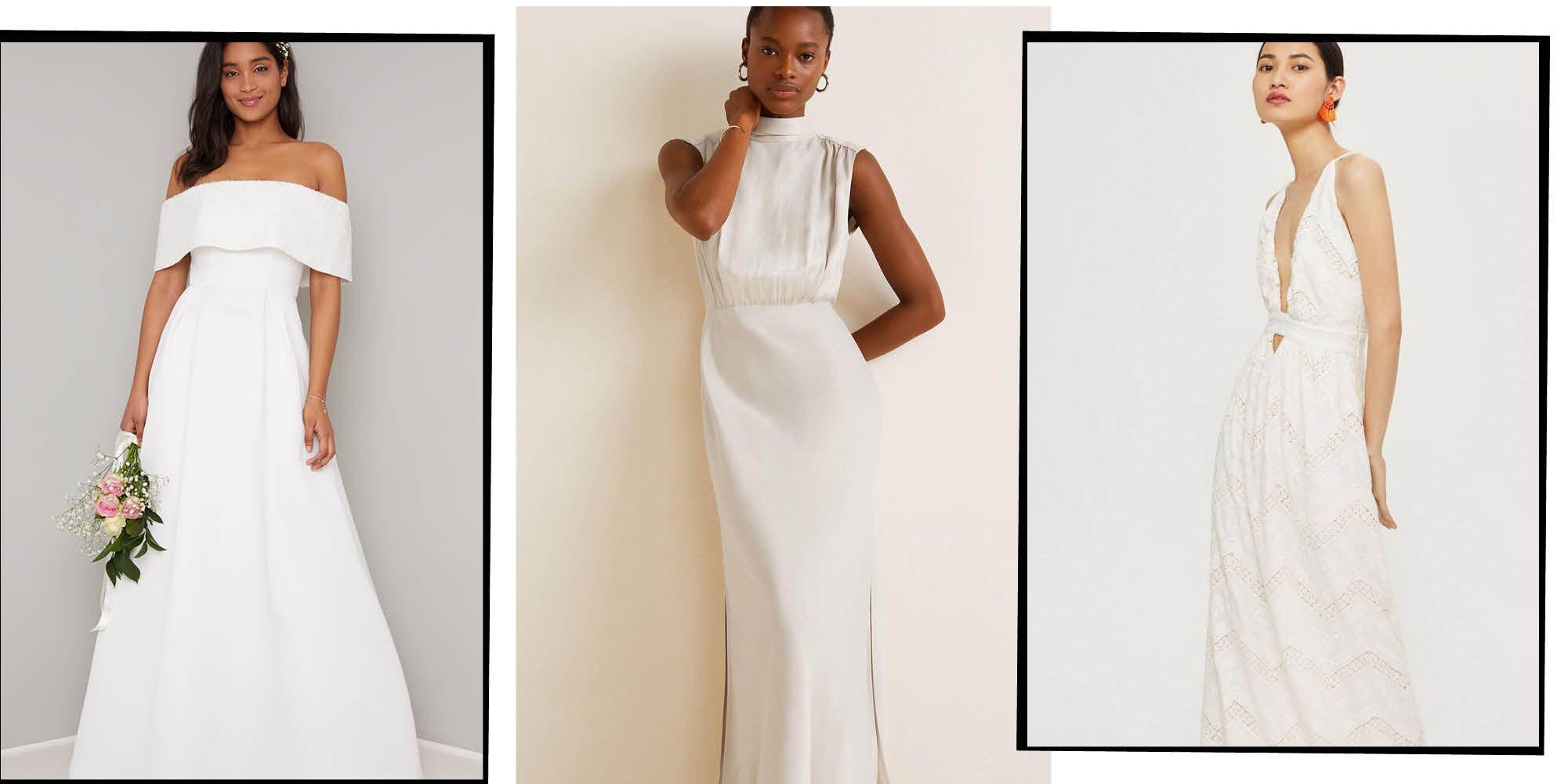 affordable wedding dress - best high street wedding dress