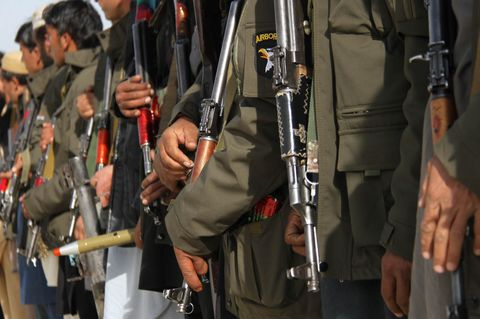 Afghan Private militia raise weapons against IS