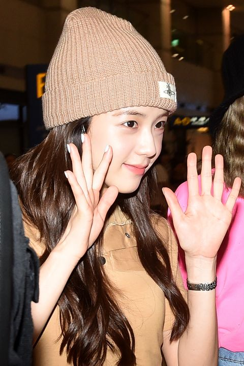 black pink jisoo is arrived at the incheon international airport on june 9th in seoul, south korea photoosen