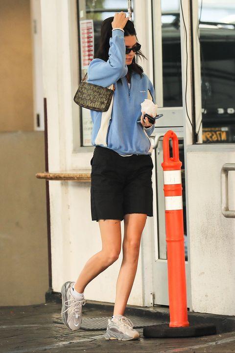 White, Street fashion, Blue, Photograph, Standing, Fashion, Snapshot, Sunglasses, Leg, Shoulder,