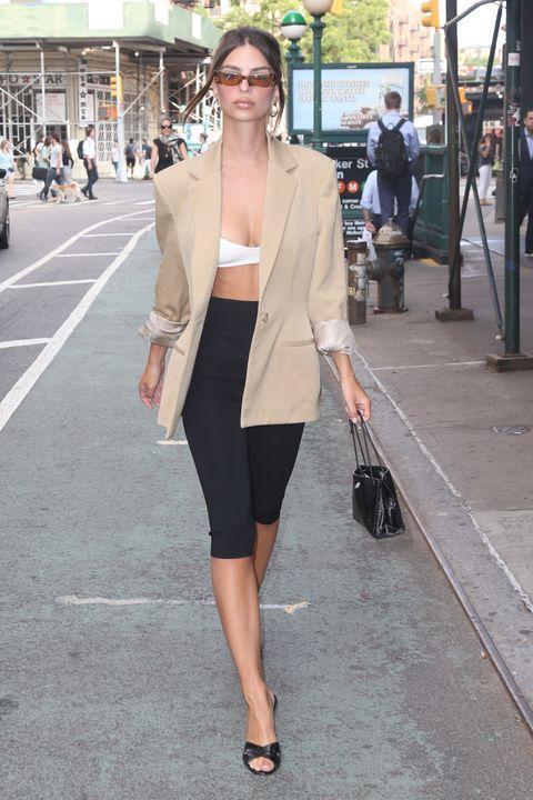 Clothing, White, Photograph, Street fashion, Fashion, Snapshot, Shoulder, Outerwear, Blazer, Leg,