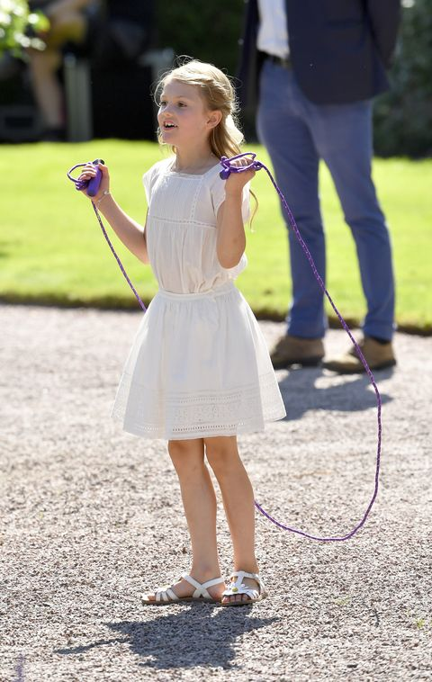Photograph, Clothing, Child, Lavender, Footwear, Standing, Snapshot, Fashion, Dress, Grass,