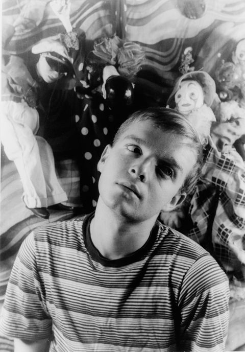 truman capote, portrait by carl van vechten, march 30, 1948