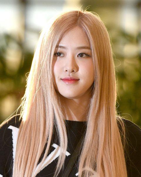 rose of blackpink is seen at gimpo international airport november 7, 2019 in south korea 2019 11 07